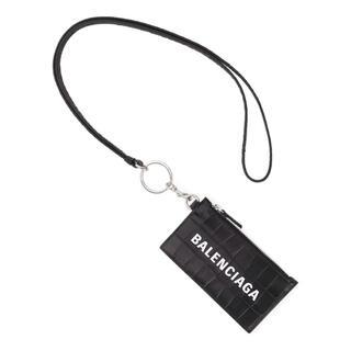 バレンシアガ(Balenciaga)のバレンシアガ BALENCIAGA カードケース コインケース ネックストラップ(コインケース/小銭入れ)