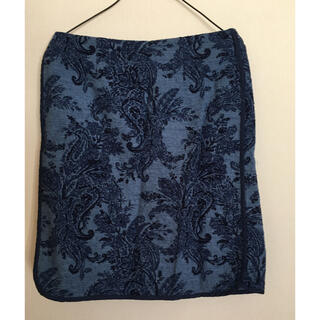 ガリャルダガランテ(GALLARDA GALANTE)の藍色 スカート(ひざ丈スカート)