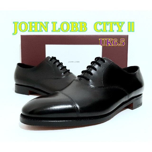 JOHN LOBB(ジョンロブ)の新品 JOHN LOBB CITY2 UK6.5 ジョンロブ シティ2 メンズの靴/シューズ(ドレス/ビジネス)の商品写真
