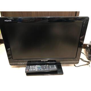 アクオス(AQUOS)のSHARP AQUOS K K5 LC-19K5-B 動作確認済(テレビ)