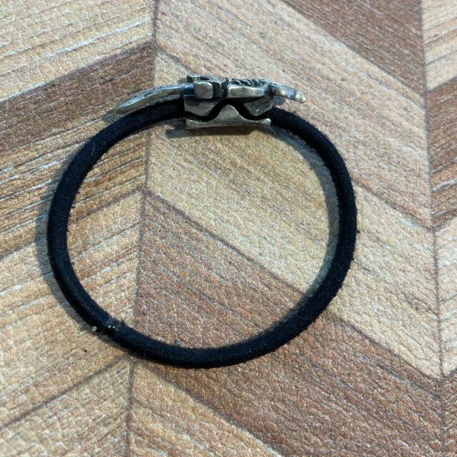 クロムハーツChromHearts ダガーヘアゴムブレスレット メンズのアクセサリー(ブレスレット)の商品写真