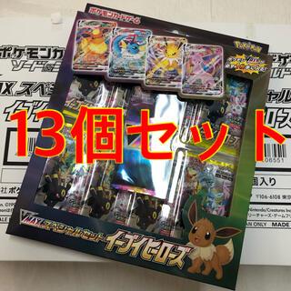 ポケモン(ポケモン)のポケモンカード イーブイヒーローズ VMAXスペシャルセット 2箱13個セット(Box/デッキ/パック)