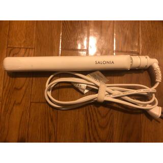 SALON - SALONIA ストレートヘアアイロン ホワイト