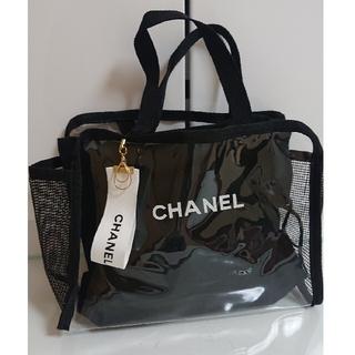 CHANEL保存袋とクリアバッグ、リボンセット