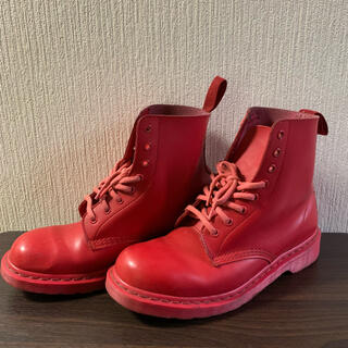 Dr.Martens - 【中古】Dr.Martens ドクターマーチン ブーツ 赤 RED 28cm