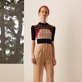 mame - Mame Pedicel Summer Knit Cropped Sweater
