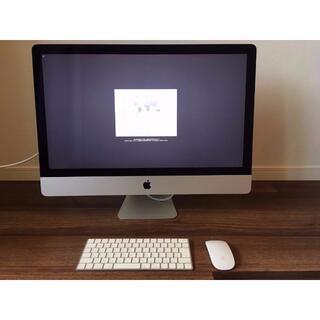 アップル(Apple)のApple iMac 27inch retina 5k Late 2015(デスクトップ型PC)
