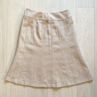 エニィスィス(anySiS)の【処分価格】anySIS ツイードマーメイドスカート(ひざ丈スカート)