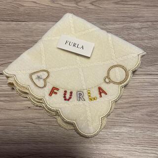 Furla - フルラタオルハンカチホワイト