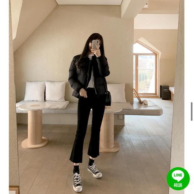 GOGOSING(ゴゴシング)の新品未使用 GOGOSING ゴゴシング カットオフ フレアコットンパンツ レディースのパンツ(デニム/ジーンズ)の商品写真
