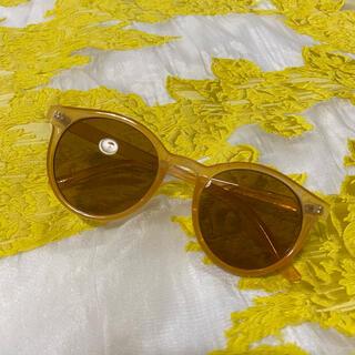 ZARA - brown sunglasses サングラス クリア