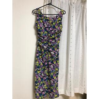 ザラ(ZARA)のドレス(ミディアムドレス)
