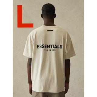 フィアオブゴッド(FEAR OF GOD)の最終値下げ‼️fog essentials Tシャツ  oatmeal(Tシャツ/カットソー(半袖/袖なし))