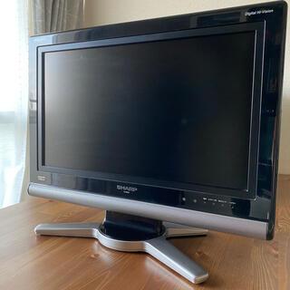 アクオス(AQUOS)のSharp液晶カラーテレビ  LC-20D10(テレビ)