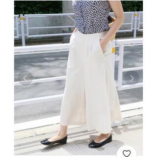 IENA - イエナ リヨセルナイロンフレアパンツ サイズ40 美品