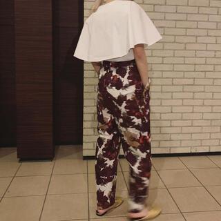 TOMORROWLAND - elin エリン 花柄パンツ dries van noten  caban