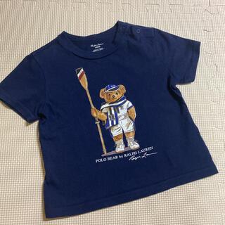 ラルフローレン ベア Tシャツ 80