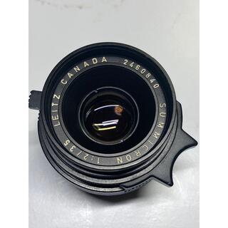 ライカ(LEICA)の【オーバーホール済み】Summicron M 35mm f2 6枚玉 ズミクロン(レンズ(単焦点))