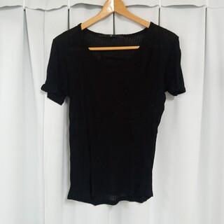 ノーアイディー(NO ID.)のNO ID. Tシャツ 黒(Tシャツ/カットソー(半袖/袖なし))