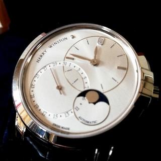 ハリーウィンストン(HARRY WINSTON)のハリー ウィンストン★ミッドナイト★デイト・ムーンフェイズ・オートマティック42(腕時計(アナログ))