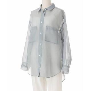 ココディール(COCO DEAL)の ブライトスパンボイルシアーシャツ(シャツ/ブラウス(長袖/七分))