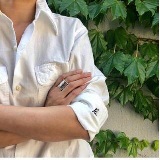 マディソンブルー(MADISONBLUE)のマディソンブルー  ハンプトン シャツ 白 ホワイト(シャツ/ブラウス(長袖/七分))