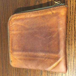 馬革 L字ファスナー 財布 ウォレット(折り財布)