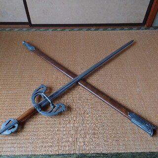 アンティーク西洋剣 片手剣(小道具)