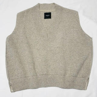 UNUSED - UNUSED  v-neck knit vest