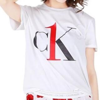 カルバンクライン(Calvin Klein)のCALVIN KLEIN クルーネックTシャツ QS6436 XS(Tシャツ(半袖/袖なし))