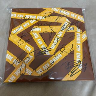 セブンティーン(SEVENTEEN)のセブチ サイン入りCD(K-POP/アジア)