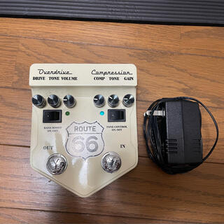 Visiual sound  overdrive エフェクター Route66(エフェクター)
