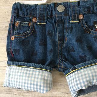 ダブルビー(DOUBLE.B)の#89デニムショートパンツ ミキハウス ダブルビー 80 半ズボン 70 男(パンツ)