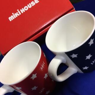 ミキハウス(mikihouse)のミキハウス マグカップ 2個セット(グラス/カップ)