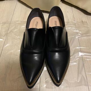 マミアン(MAMIAN)の【お値下げ】 MAMIAN ローファー 厚底 黒(ローファー/革靴)