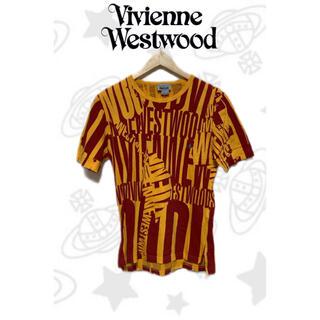 ヴィヴィアンウエストウッド(Vivienne Westwood)のヴィヴィアン 半袖 メンズSサイズ デカロゴ オーブ レディース(Tシャツ/カットソー(半袖/袖なし))