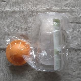 ルピシア(LUPICIA)のルピシア LUPICIA ハンディクーラー 1/2 ハーフ オレンジ 旧デザイン(その他)