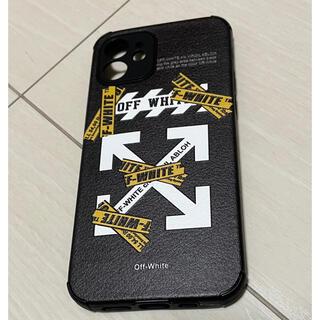 OFF-WHITE - iphone12用/オフホワイト /OFF-WHITE/新品未使用/ケース/白