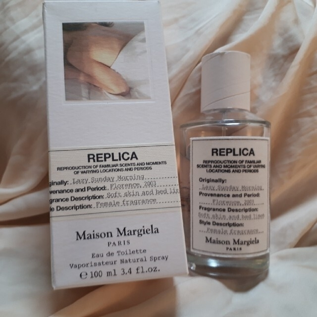 Maison Martin Margiela(マルタンマルジェラ)のマルジェラレプリカ レシジーサンデーモーニング  フランス製 100mL 正規品 コスメ/美容の香水(ユニセックス)の商品写真