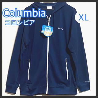 Columbia - 新品 コロンビア Columbia パーカー  XL ネイビー 紺