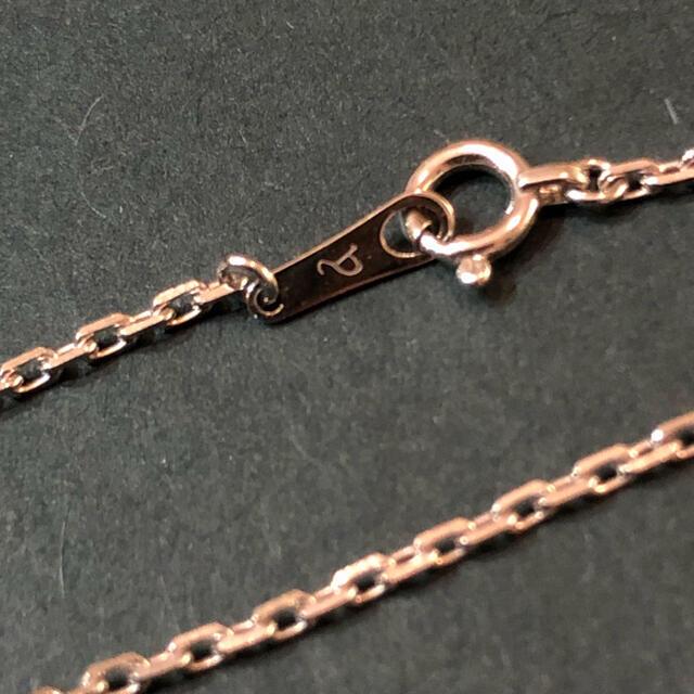 EYEFUNNY(アイファニー)のEYEFUNNY(アイファニー)18KホワイトゴールドスタンダードSチェーンM メンズのアクセサリー(ネックレス)の商品写真
