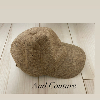 And Couture - アンドクチュール キャップ