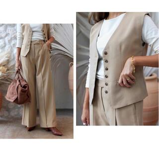 ルームサンマルロクコンテンポラリー(room306 CONTEMPORARY)のroom306  center seam wide pants 9/10まで(カジュアルパンツ)