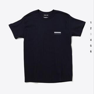 ネイバーフッド(NEIGHBORHOOD)のwind and sea × neighborhood T-shirt 黒 M(Tシャツ/カットソー(半袖/袖なし))