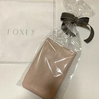 フォクシー(FOXEY)のFOXEY  オリジナルスマホバッグ コート受注会 ノベルティ フォクシー(ポーチ)