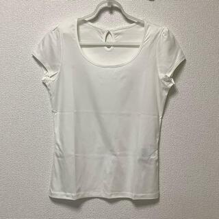 エクリュフィル(ecruefil)のecruefil/新品・未使用 エクリュフィル Tシャツ バックリボン ホワイト(Tシャツ(半袖/袖なし))