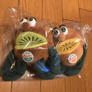 タカラジマシャ(宝島社)のキウイブラザーズ マスコットポーチ(ぬいぐるみ)