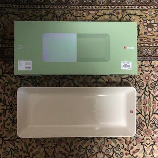 イッタラ(iittala)のイッタラ ティーマ 16cm×37cm ロングプラター ホワイト(食器)