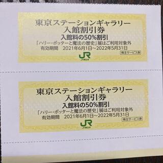 東京ステーションギャラリー入館割引券 2枚JR東日本株主優待 株主サービス(その他)