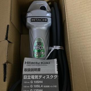 ヒタチ(日立)の日立 電気 ディスクグラインダ G 10HSH4 最大出力960w ほぼ新品 *(その他)